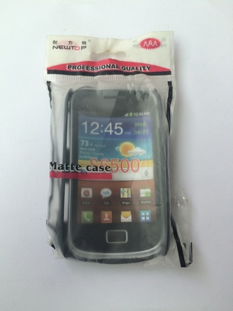 Силиконов гръб за Samsung Galaxy Mini 2 S6500