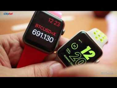 Apple Watch Series 2 Nike+ видео ревю