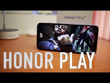 Honor Play видео ревю
