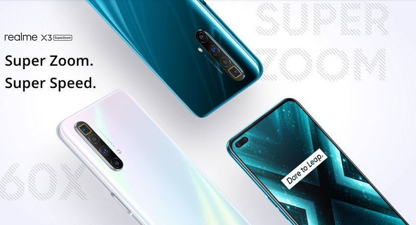 Официални: Realme X3 SuperZoom, Realme 6s, Realme Watch и Realme Buds Air Neo